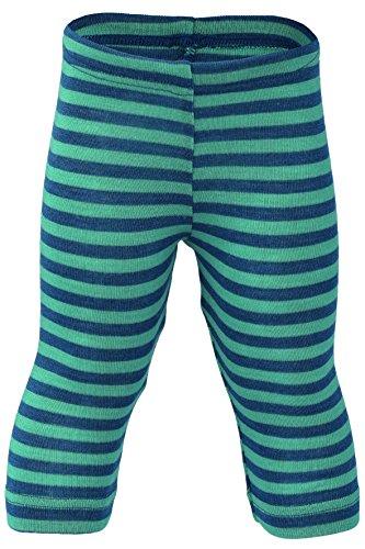 Engel Pants Merino Wool Silk Baby Leggings Organic eco 72 3550 (12-24 Months, Blue/Kingfisher)