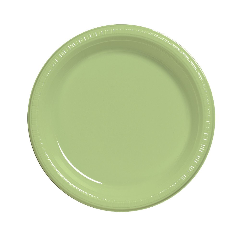 Creative Converting Touch of Color 20 Count Plastic Lunch Plates Pistachio 28313011