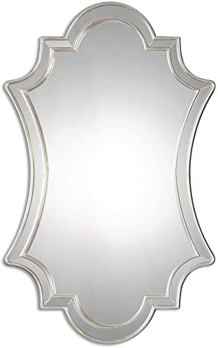 Uttermost Elara Antiqued Silver Wall Mirror Model-08134