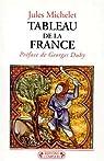 Tableau de la France par Michelet