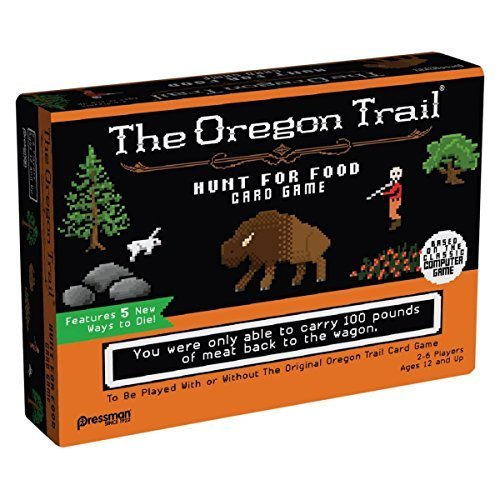 Oregon Trail: Hunt for Food Card Game by Oregon Trail