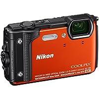Nikon W300 Digital Camera, Orange