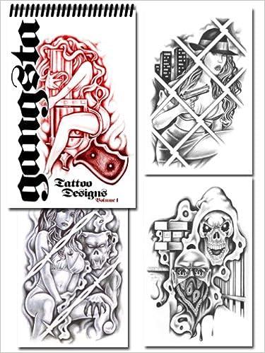fc9bd2d9670c5 Gangsta Tattoo Designs (Volume 1): Various Artists: Amazon.com: Books