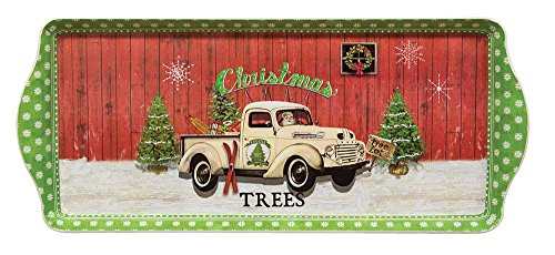 CWI Gifts Christmas Trees Tray ()