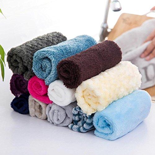Dishcloth Kitchen Towel, Jushye Microfiber Anti-grease Cloth Bamboo Fiber Washing Towel Magic Kitchen Cleaning Wiping Rags For Window Rags Glasses Washing Dish Towels Hot Sale !!! (E)