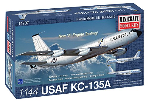 Minicraft Model Kits Boeing Stratotanker Model Kit (1/144 Scale)