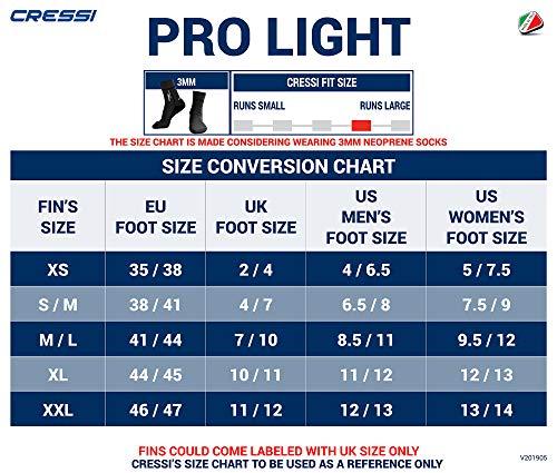 Cressi Pro Light, XS