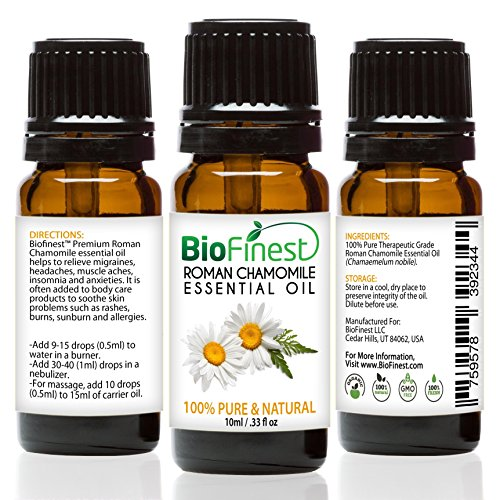 BioFinest Roman Chamomile Oil Aromatherapy