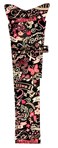Stethoscope Cover - Pink Ribbon Collage