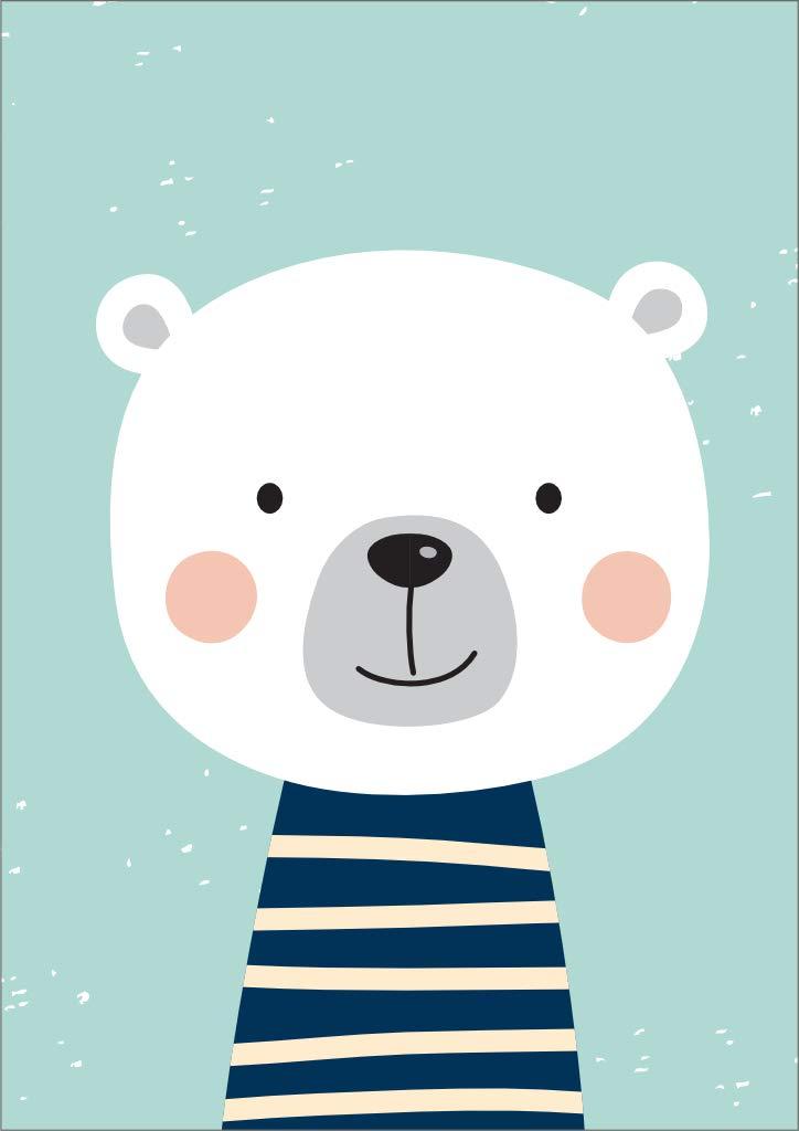 T/ürkies   DIN A3 3er Set Kinderzimmer Babyzimmer Poster Bilder M/ädchen Junge Deko Dekoration Kinderzimmer POSTORO A New Adventure
