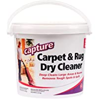Capture Carpet Cleaner 4 lb - Dry Carpet Cleaner and Area Rug Cleaner, Carpet Cleaning Powder to Deodorize Pet Stains…