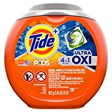 Tide Pods Ultra Oxi Liquid Detergent Pacs, 32 Little Capsules
