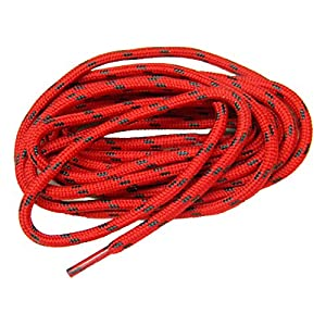 72 inch RED w/ BLACK Kevlar(R) reinforced proTOUGH(TM) Boot Shoelaces (2 pair pack)