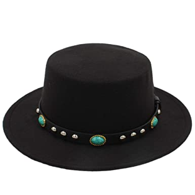 e99ad6216d3 HX   MM Winter Wool Felt Fedora Hats Men Vintage Black Godfather Mans  Autumn Round Top
