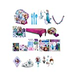 Disney Frozen Birthday Party Supplies for 8 Guests (153 Pieces)