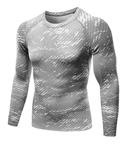 場合ダッシュ寝室を掃除するATEM SCHLAG 人気 スポーツシャツ 長袖 おしゃれ ラウンドネック 1803SU0502