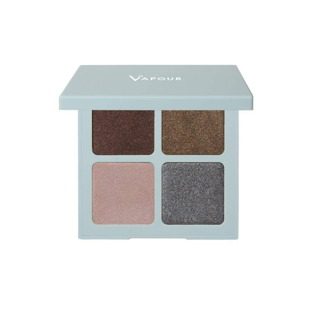 Vapour Organic Beauty Eye Shadow Quad, Labyrinth Chic + Mysterious, 0.23 Ounce
