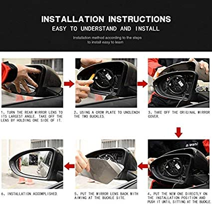 MCARCAR KIT Mirror Cover fits BMW F80 M3 F82 F83 M4 2Door 4Door 2014-2019 Replacement Factory Outlet Real Dry Carbon Fiber CF Rearview Side Rearview Mirror Caps Car Exterior Outside Shell LHD