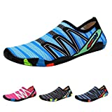 KUNSHOP Adult Water Shoes Quick Dry Barefoot Sports Sneakers Aqua Beach Sandals for Women Men