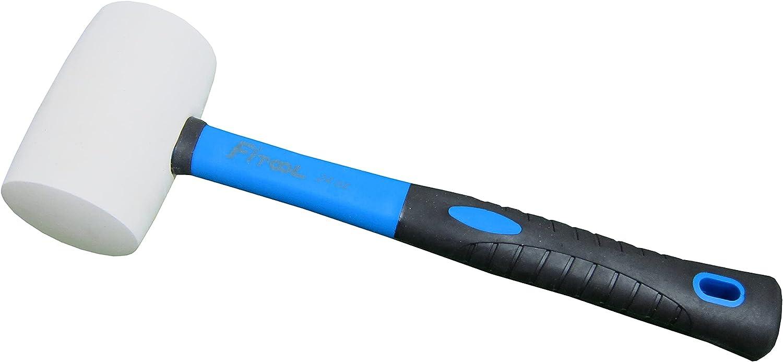 Details about  /8oz//12oz//16oz//24oz Rubber Mallet Hammer Fiberglass Grip Handle 11 Inch Length