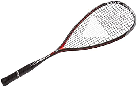 Tecnifibre Carboflex (S) - Raqueta de squash (125, 130, 4.76 oz de pesos disponibles)