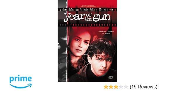 Amazon Com Year Of The Gun Sharon Stone Valeria Golino Andrew Mccarthy John Pankow John Frankenheimer Edward R Pressman Inc Yog Productions