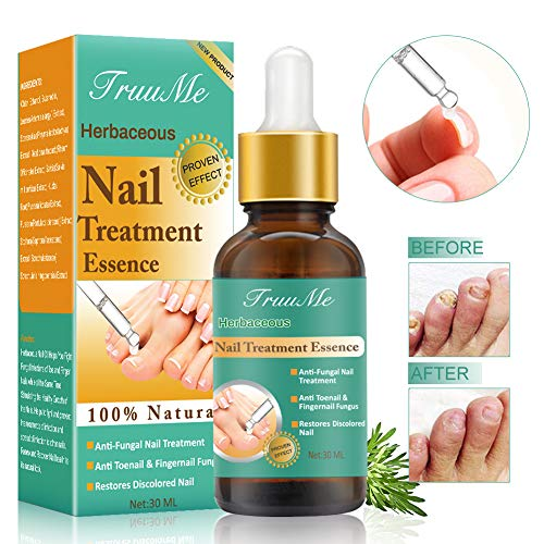 Nail Infection Treatment, Nail Repair Solution, Toenail Treatment, Effective Against Nail Infection Restores Discolored & Damaged Nails
