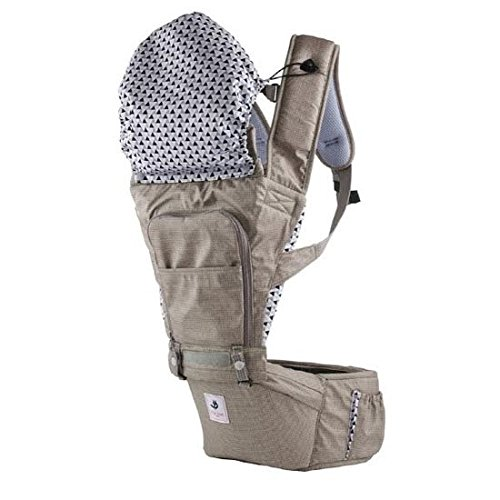 Pognae Hipseat No5 Baby Carrier, Mocha by Pognae