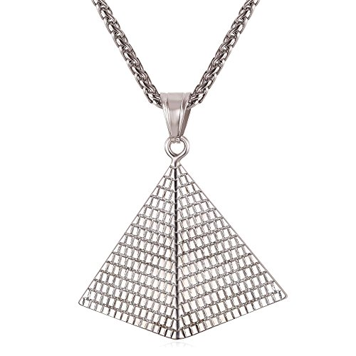 U7 African Jewelry Stainless Necklace