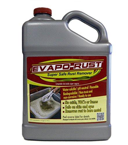 Evapo-Rust The Original Super Safe Rust Remover, Water-Based, Non-Toxic, Biodegradable, 1 Gallon by Evapo-Rust
