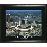 St. Louis Cardinals - Busch Memorial Stadium Aerial - Lg - Framed Poster Print