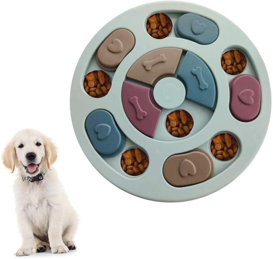 Juguete para Perros, alimentador Lento, dispensador de golosinas para Cachorros, alimentador Lento para Perros