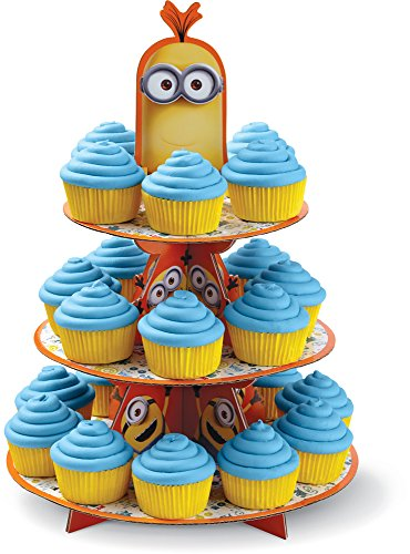 Wilton 1512-4600 Despicable Me Minions Treat Stand, Multicolor -