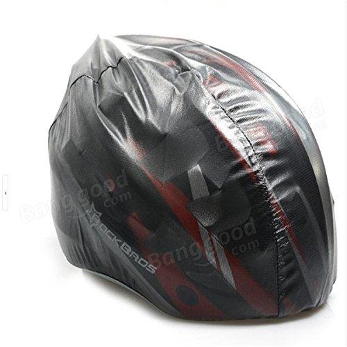 Moppi El rockbros casco que va en bicicleta cubre la bicicleta de la moto tapa de la ultraluz de la tapa impermeable