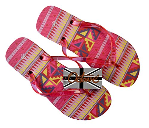 Wear Beach Styles Orange Wave OCTAVE Flip Ladies Colours Design Summer Flops Various Collection amp; q6wtHUn8