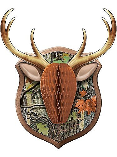 Hunting Camo Antler Decoration, 1 ct -