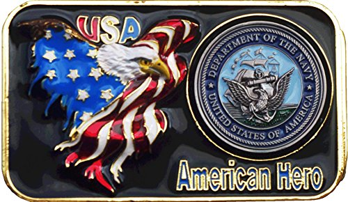 US Navy Belt Buckle Exclusively by (Navy Belt Buckle)