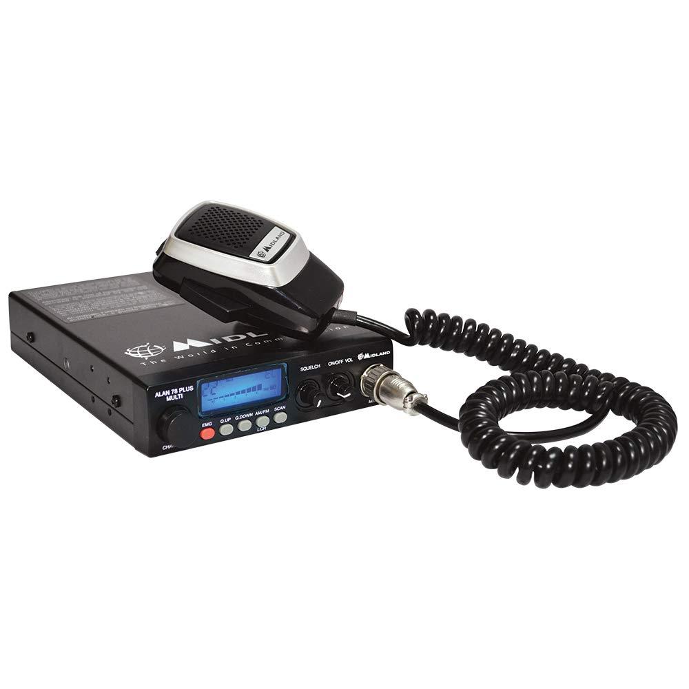 Midland Alan 78 Plus Multi B Emetteur pour Radio CB 27 MHz