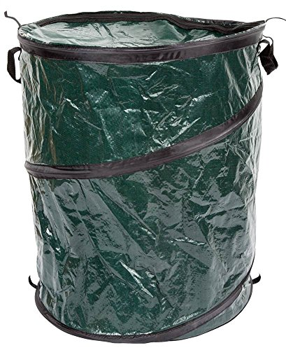 33-Gallon Outdoors Pop Up Camping Garbage Can Trash Bin by Unknown