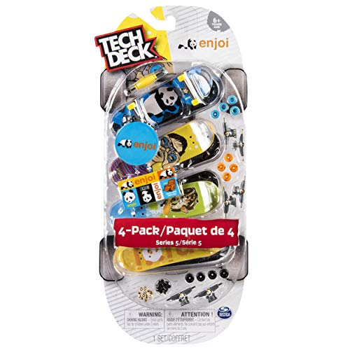 Tech Deck - 96mm Fingerboards - 4-Pack - Enjoi