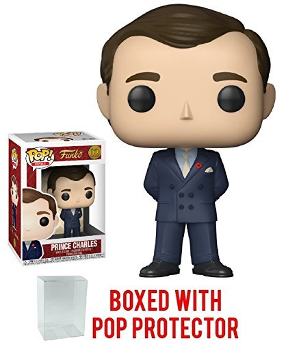 Funko Pop! Royals: The Royal Family - Prince Charles Vinyl Figure (Bundled with Pop Box Protector -