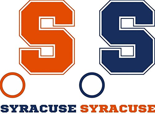 G&S Syracuse Cornhole Decals - 6 Cornhole Decals - 2 Free Window Decals