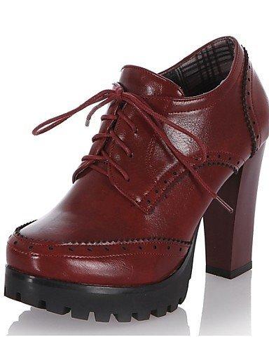 Shangyi en femme Hug Talon pour gros Chaussures similicuir uK13TlJcF