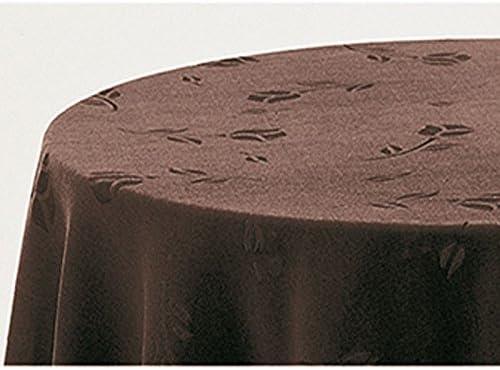 Falda para Mesa Camilla Modelo Deluxe 792, Color Chocolate 709, Medida Redonda 90/233cm Ø (También Disponible en Distintos Colores, Formas y Medidas): Amazon.es: Hogar