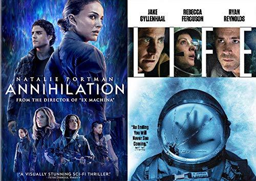 Scientific Fiction Aliens + Space + Time: Life & Annihilation (2 Feature Film DVD Bundle)