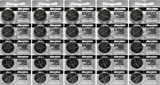 Watches : 25 Energizer 2032 Battery CR2032 Lithium 3v (5 Packs of 5)