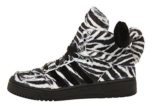 adidas - Zapatillas para hombre negro/blanco Negro