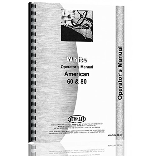 - New White American 60 Tractor Operator Manual