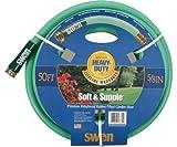 Swan Hose SNSS58100 5/8' x 100' Soft & Supple Garden Hose