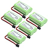 5x Masione 2.4V 1600mAh NI-MH Phone Battery For Uniden BT1007 BT-1007 BT904 BP904 BT1015 DECT1580